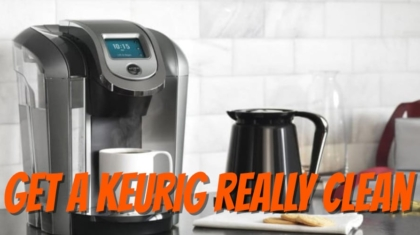 how to sanitize your keurig