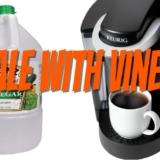 Descale a Keurig with vinegar