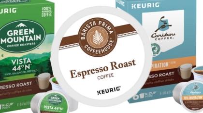 top espresso k cups