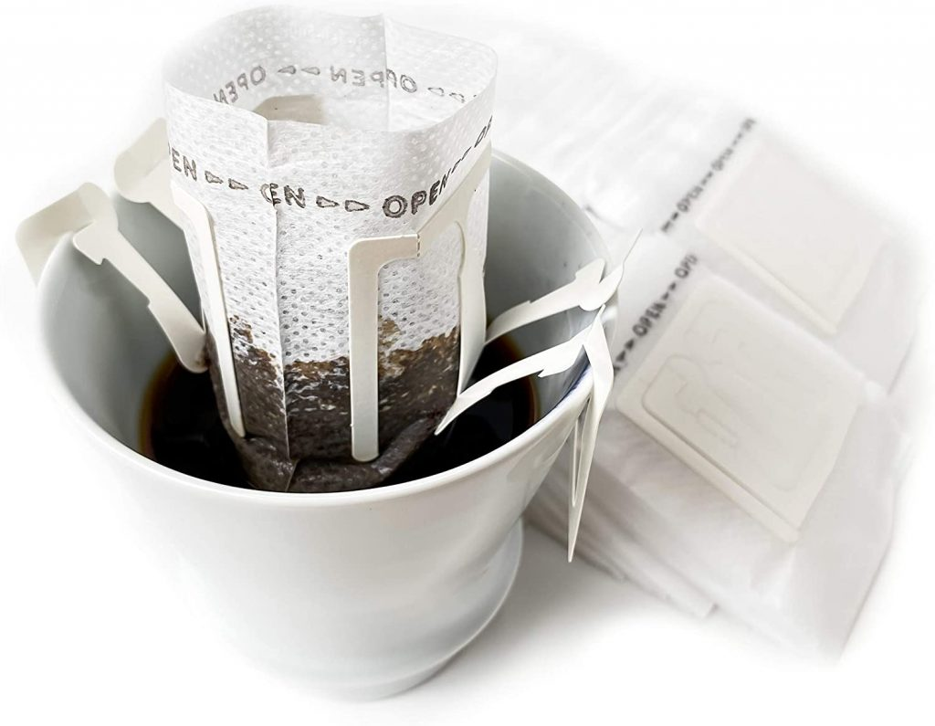 pour over single serve filters