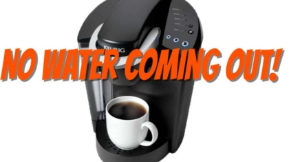 keurig no water coming out